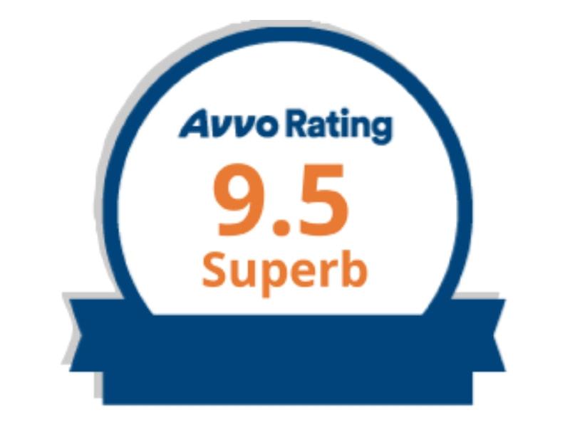 Avvo rating 9.5